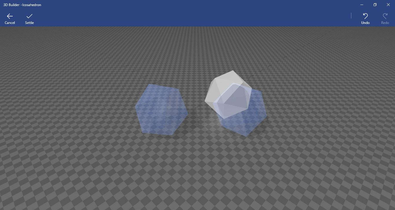 Settle option in 3D Builder app e7daf463-86ae-407b-9df7-c15d52043008?upload=true.png