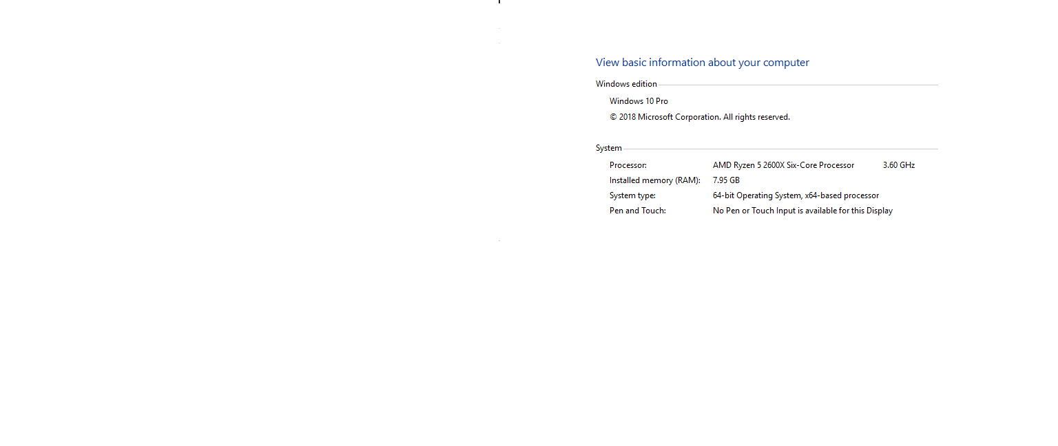 Aorus B450 M bios seeing 16gb of ram Windows only seeing half. e866f809-8684-4f0f-9856-7be93b31ed57?upload=true.png