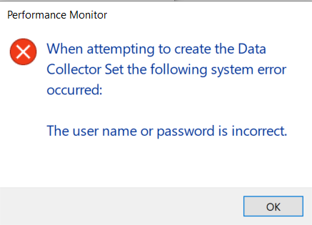 Microsoft Account Credentials Not Accepted When Creating Data Collector Set in Performance... e8a4b4e6-e2aa-48dd-94b2-11387129cd20?upload=true.png