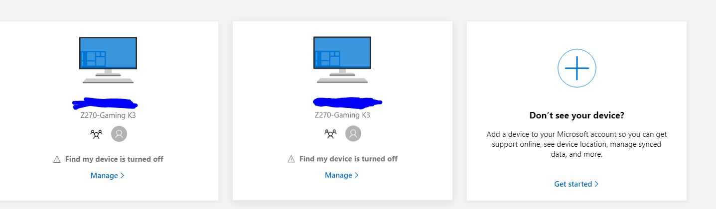 I have 2 PC's showing up in my Microsoft Live Account ea347d30-f3ea-4a8e-88bf-0be7c8a3a1e0?upload=true.jpg