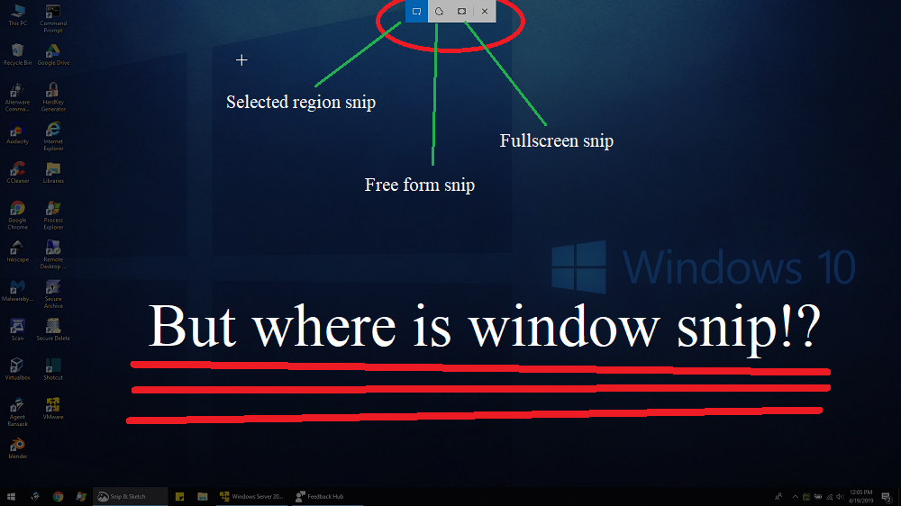 What happened to window mode in Snip & Sketch? ed2167b4-f4d3-4d05-ba69-5075c883ed96?upload=true.png