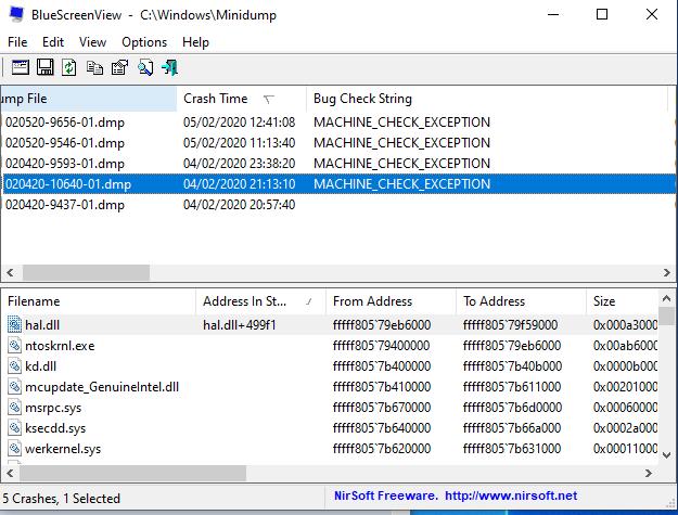 MACHINE_CHECK_EXCEPTION BSOD . hal.dll 499f1 . edb212c6-fe4d-4081-9cdd-332cb824305f?upload=true.png