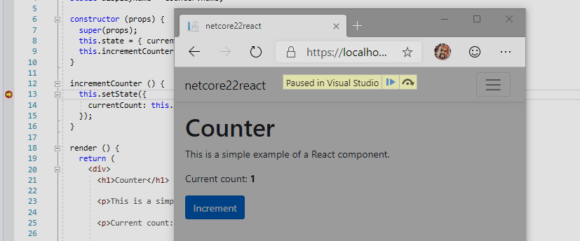 New Visual Studio 2019 version 16.2 Preview 2 released edge-chromium-breakpoint-1.png