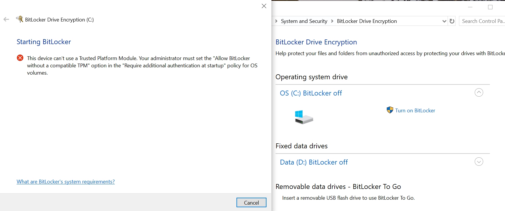 How to turn on the BitLocker? eefacb8c-cf9d-4f11-bac4-48a75246ddc0?upload=true.png