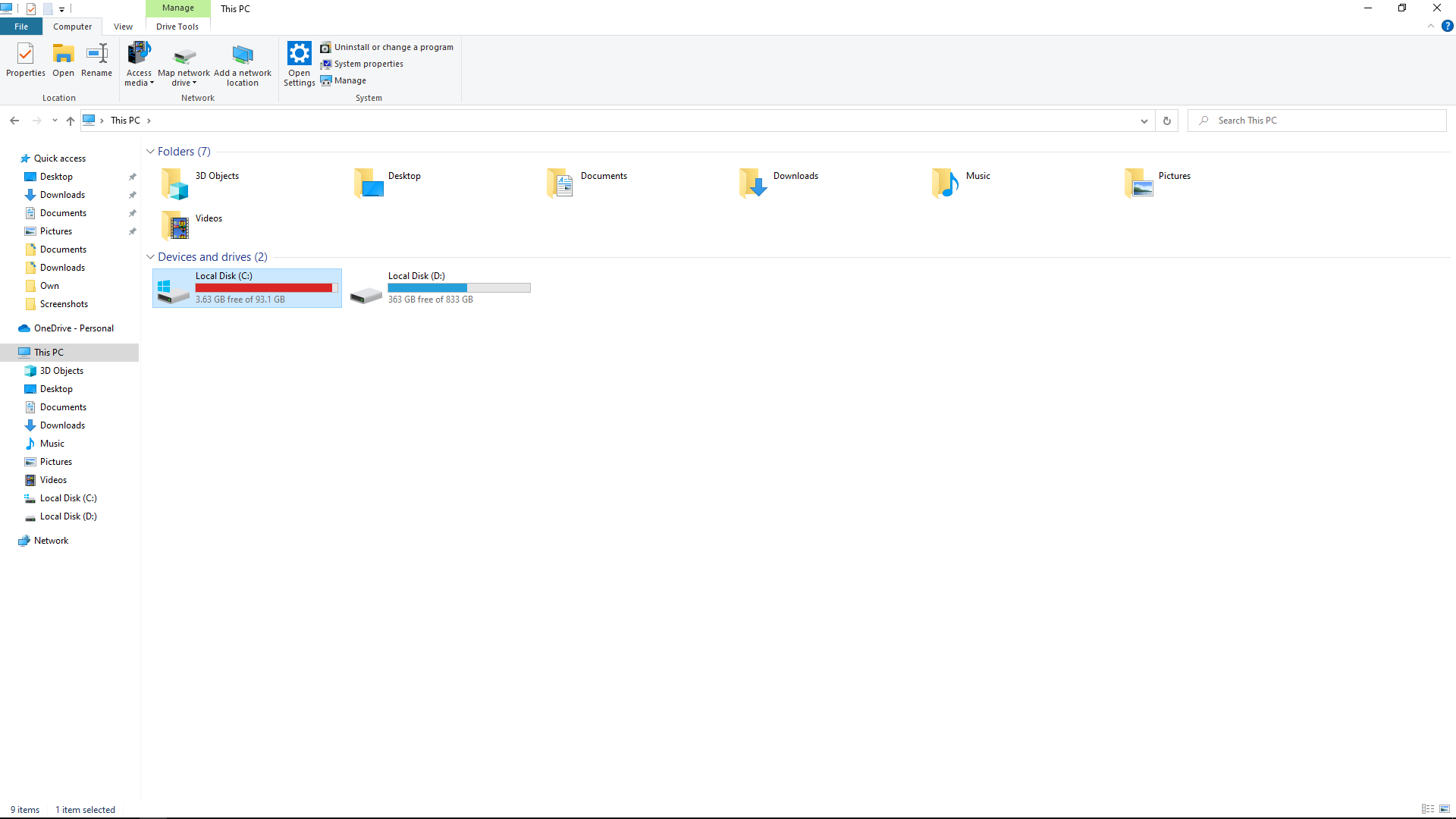 Idk how my c drive becomes full without me installing anything in it efe033a6-9507-4e2f-939b-a678c15746bf?upload=true.png