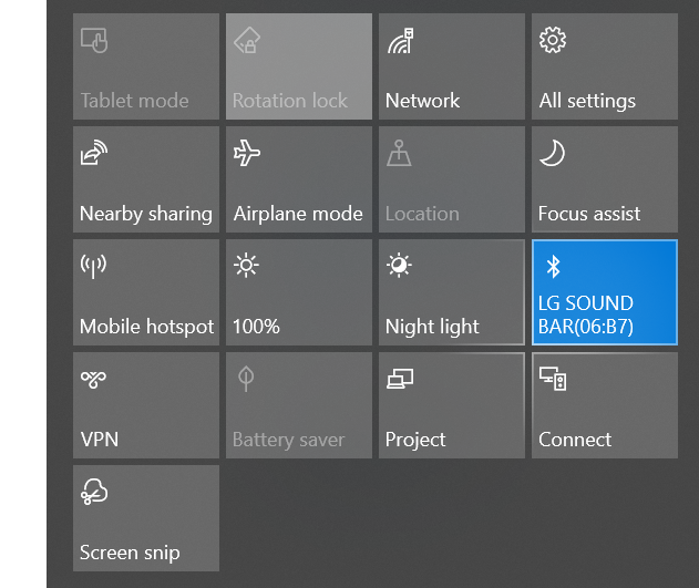 Bluetooth Speaker is connected, but 'disconnected' Sound > Playback settings eff7988b-d43c-4a1e-8655-88d19a42ac7a?upload=true.png