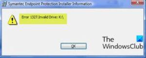 Error 1327 – Invalid Drive when installing or uninstalling programs on Windows 10 Error-1327-Invalid-Drive-300x120.jpg