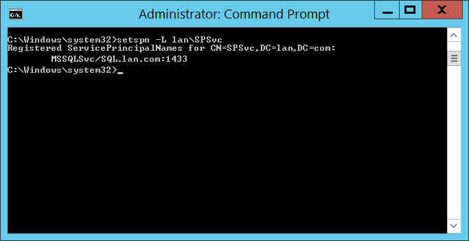 Fix: SharePoint error Cannot generate SSPI context for SQL Server eventid5586.png
