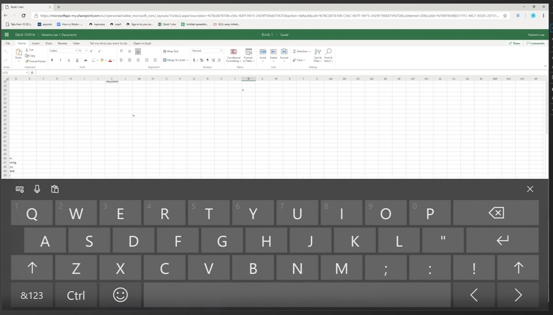 Google Chrome to work better with Windows 10's touch keyboard Excel-in-Chrome.jpg