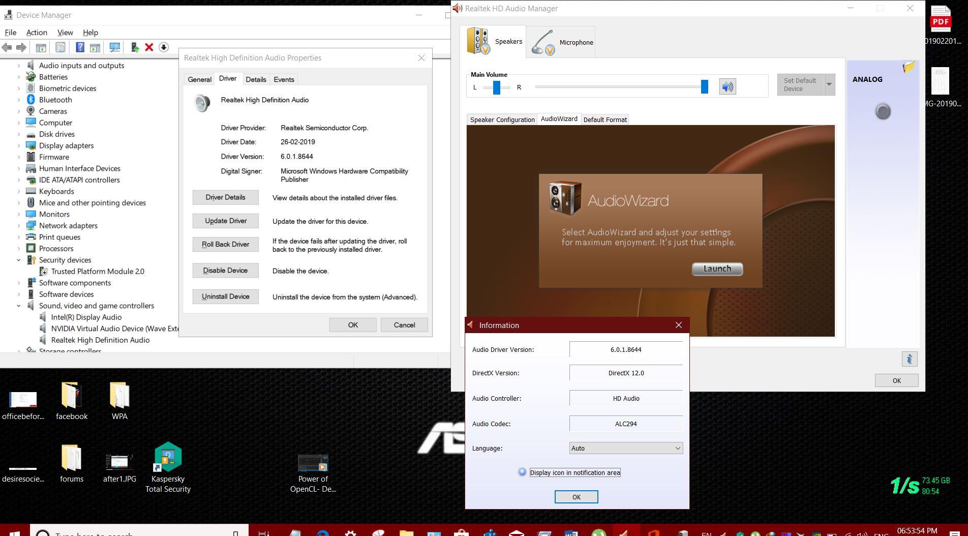realtek hd audio driver windows 10 64 bit download free