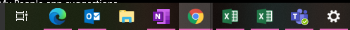 """Always, hide labels"" not combining icons on taskbar f51ca924-63bb-4396-97aa-53795872c660?upload=true.png"