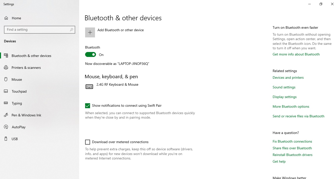 Connecting Bluetooth JLab Go Air wireless earbuds leads me to blue screen of death f82defb9-c81f-424b-a50a-bbd1e82f4490?upload=true.jpg