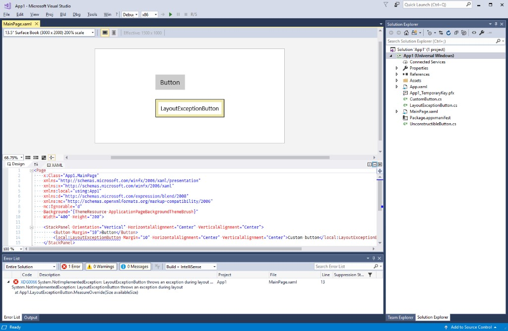 Visual Studio 2022 64-bit public preview will be released this summer Fallback-controls-shown-with-yellow-border.jpg