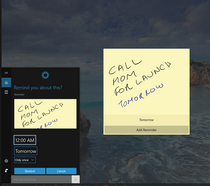 Are there any security features to protect Desktop Sticky notes? fc9d1eb3-f577-4d34-a0b6-110ee7cc9e3d.png