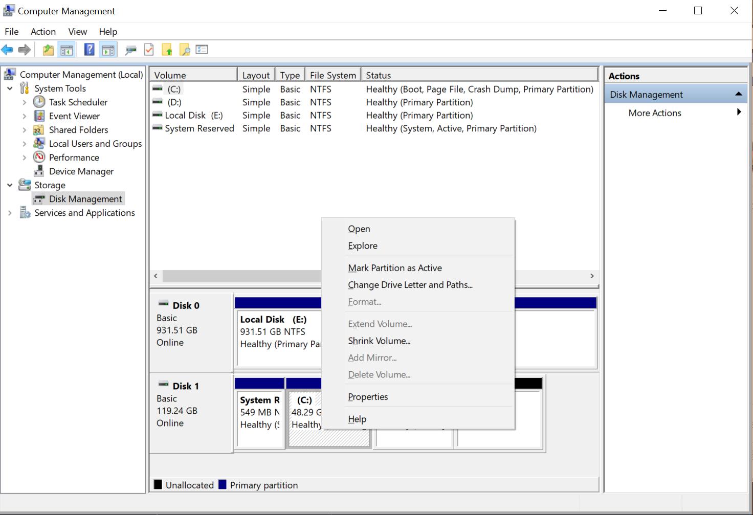 Windows 10 cannot extend C partition fd05f37f-c7c8-447f-a3e0-b1557d965a8d?upload=true.png