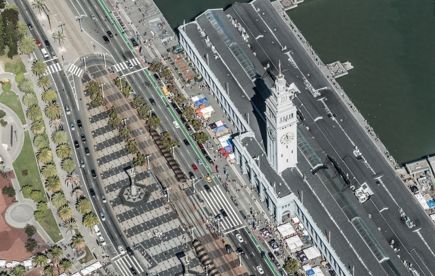 Bing Maps Released New Bird's Eye Imagery FerryBuilding_SanFranciscoCA.jpg