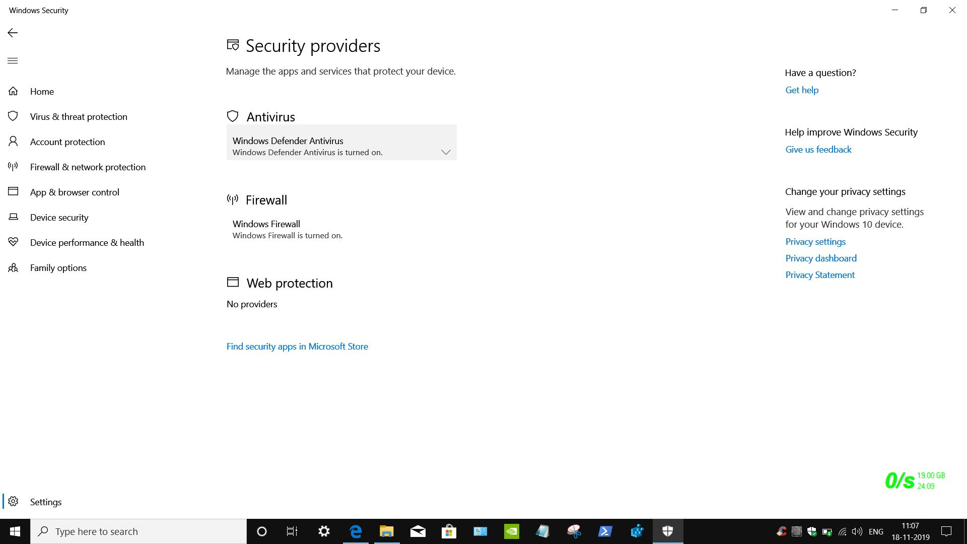 """I have Windows Defender """" under """"web protection"""" it states """"no providers"""". Does this mean I... ffcdecfd-4227-43e3-9bdf-c59d3897ba53?upload=true.jpg"""