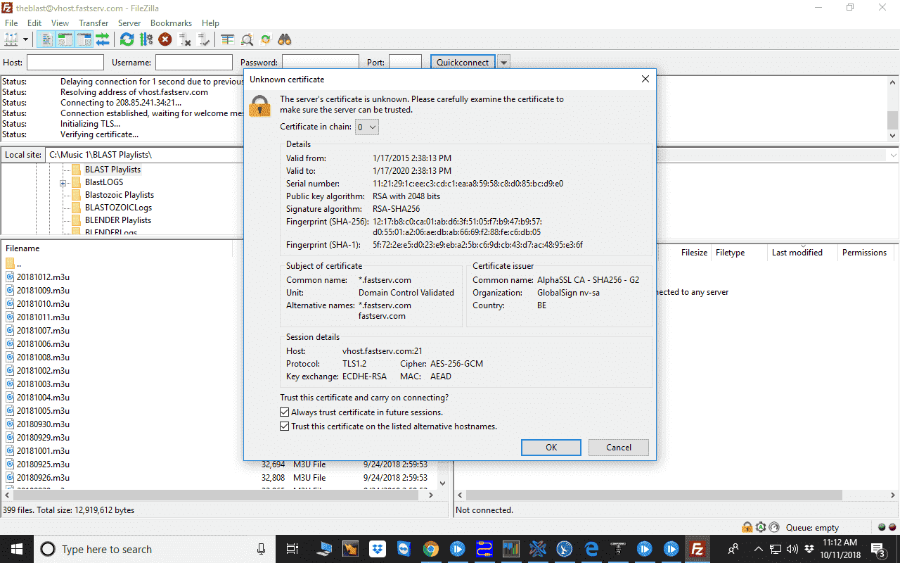 Filezilla downloads flagged as false positive by Windows Defender, says Filezilla file.png