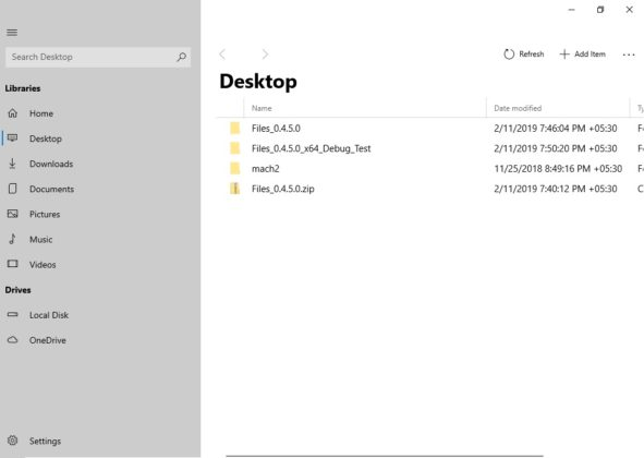 Third-party developer shows off a modern File Explorer for Windows 10 Files-UWP-desktop-view-591x420.jpg