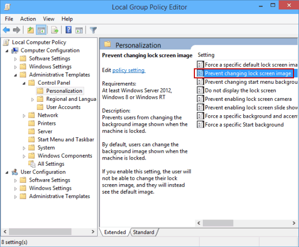 Can't change lock screen image on windows 10 find-and-open-prevent-changing-lock-screen-image.png