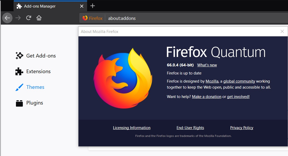 Firefox 66.0.4 released with fix for bug that disabled add-ons (extensions) Firefox-browser.jpg