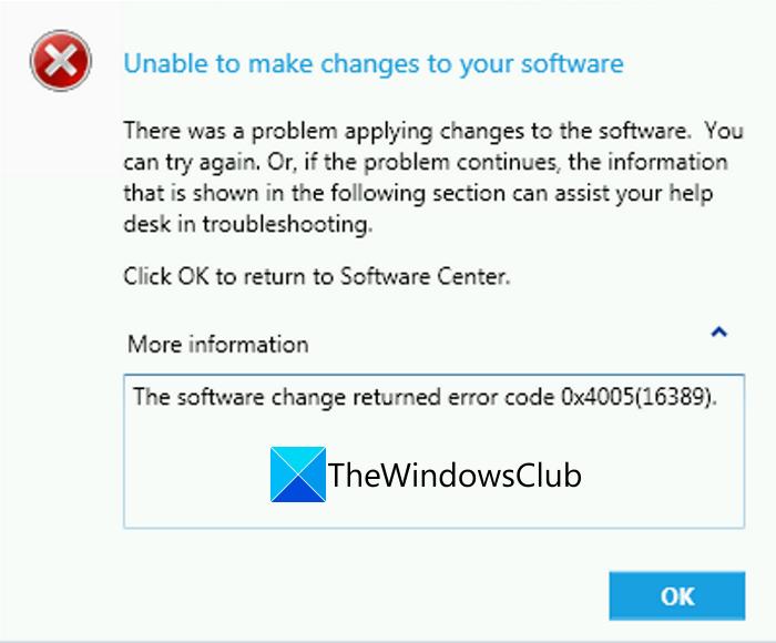Fix Error Code 0x4005(16389) when upgrading Windows fix-error-0x4005-16389-when-upgrading-windows-1.png