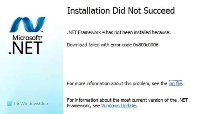 Fix .NET Framework Error 0x800c0006 on Windows 11/10 fix-net-framework-error-0x800c0006-1.jpg