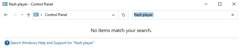 Microsoft is removing Flash legacy components from Control Panel Flash-Player-in-Control-Panel.jpg