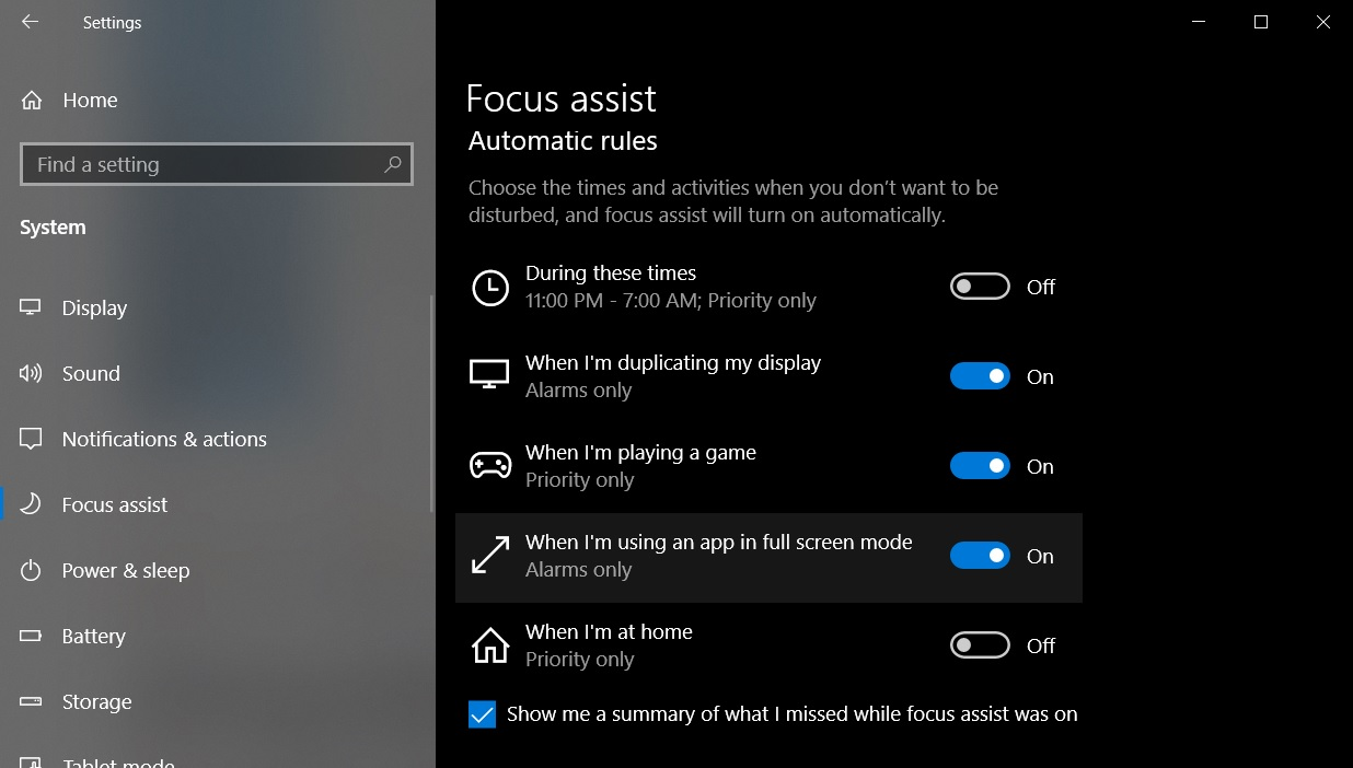 Windows 10 May 2019 Update: The best nifty improvements Focus-Assist.jpg