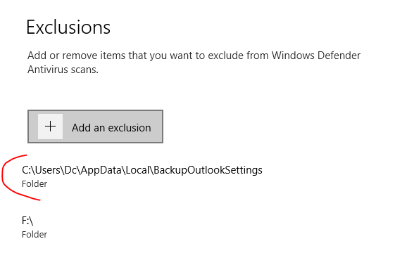 How do I stop Windows Defender from killing my backup script? FOwsWpF.png