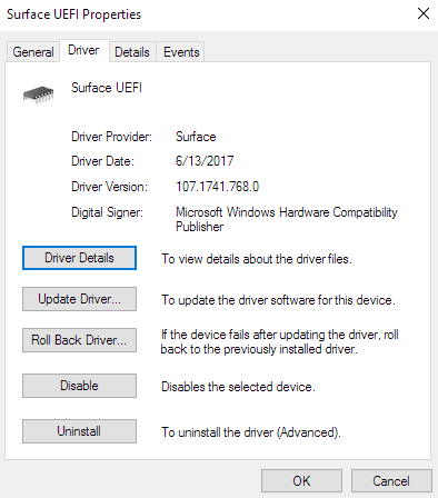 How do I disable UEFI on Microsoft Surface Pro 4 ? FtxjV.png