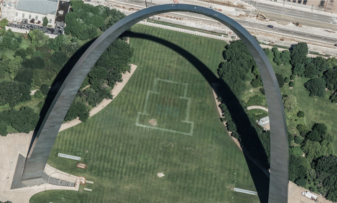 Bing Maps Released New Bird's Eye Imagery GatewayArch_StLouisMO.jpg
