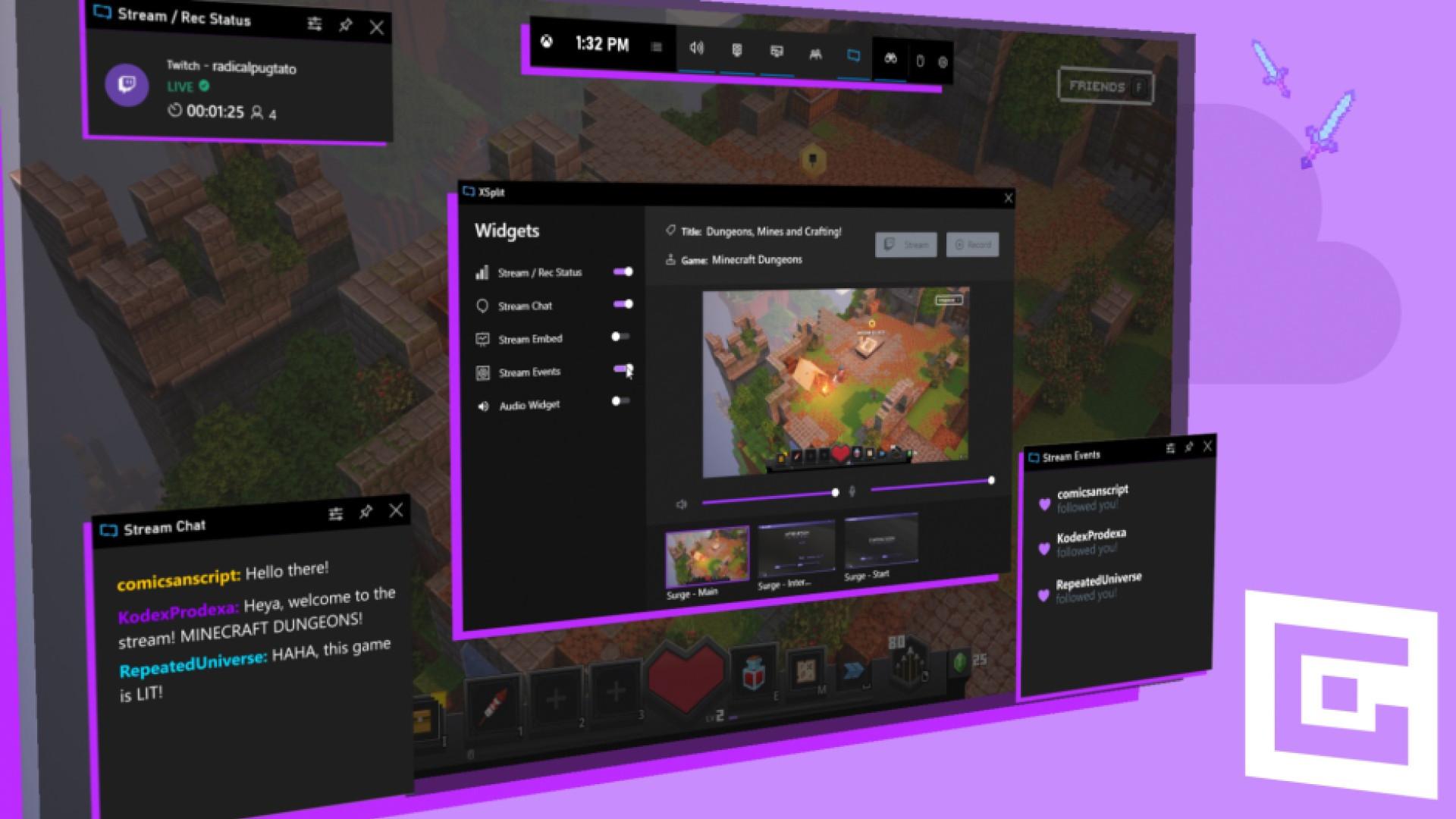 Xbox Game Bar - Keeps resetting widget layout and sizing when application runs GC_Gamebar_SS2.jpg