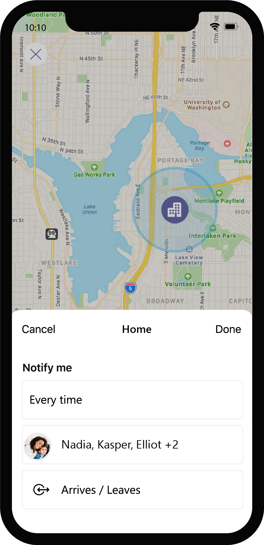 Microsoft Teams personal features now available to desktop and web GEO-Fencing_w_device-iOS.png