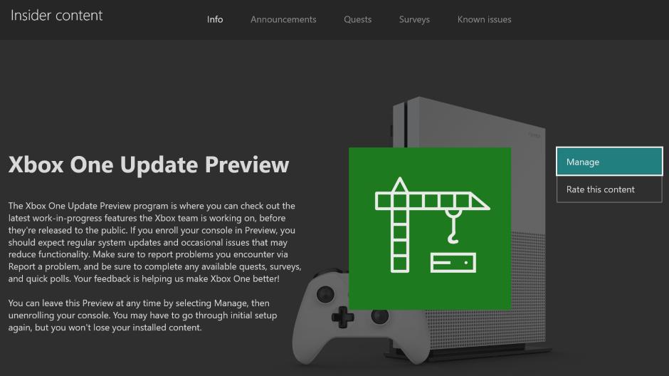 Xbox One Preview Alpha Skip Ahead 2004 Update 191007-2100 - Oct. 9  Xbox Hero_XboxOneUpdatePreview_Hero.png