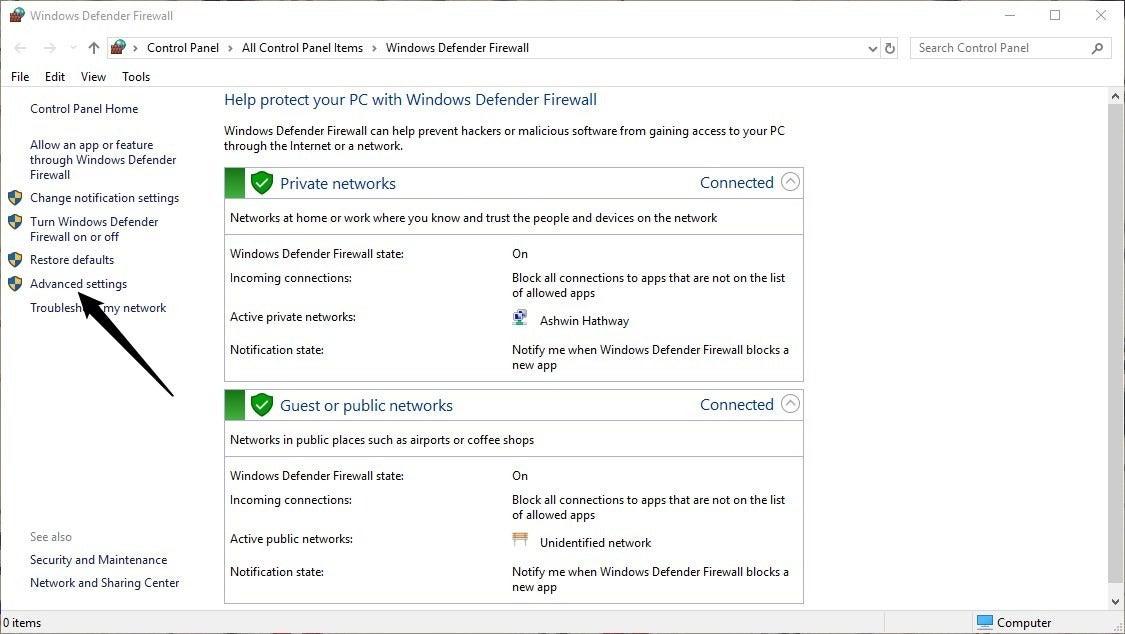 Back to Basics: How to block Windows programs from accessing the internet How-to-block-Windows-programs-from-accessing-the-internet-Firewall-step-1.jpg
