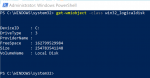 How to use Windows PowerShell to find information about Hard Drive How-to-use-Windows-Powershell-to-find-information-about-hard-drive-150x78.png