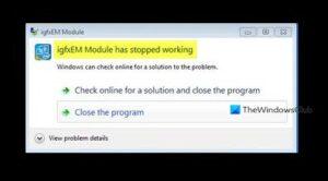 Fix igfxEM module has stopped working error igfxem-module-has-stopped-working-1-300x166.jpg