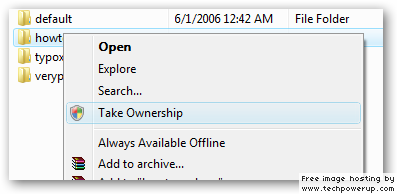 Where can I find the Standard Right-Click menu in the Registry? image9.png