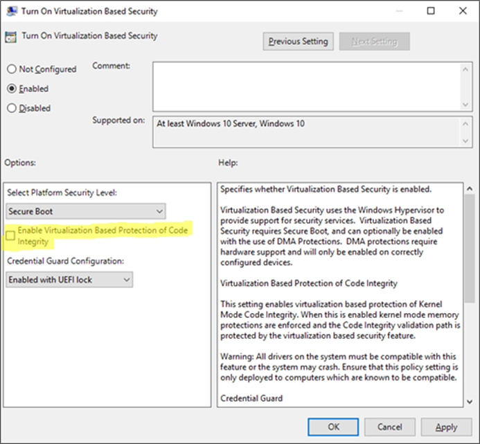 Verify if Credential Guard is Enabled or Disabled in Windows 10 image_thumb_534A93DB.png