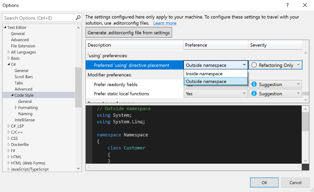 Visual Studio 2019 version 16.1 Preview 3 now available img7.png