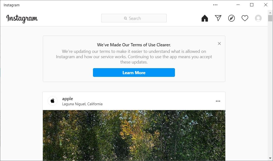 Instagram web app for Windows 10 is now based on Microsoft Edge Instagram-PWA.jpg