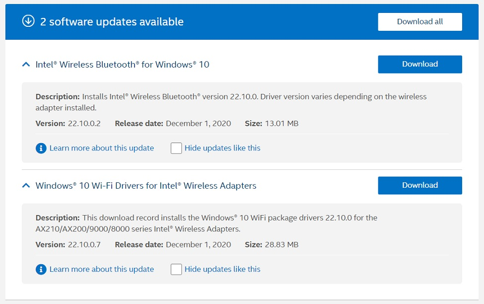 Windows 10 is getting a major driver update on Intel, Nvidia, AMD PCs Intel-December-update.jpg