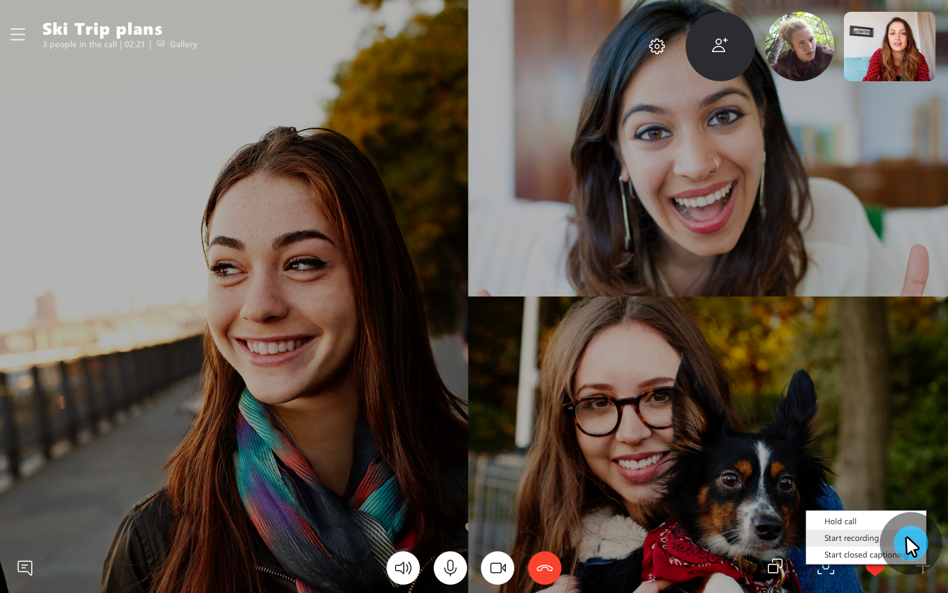 Skype Preview version 8.43.76.38 Introduces Screen Sharing on Mobile Introducing-Skype-call-recording-1.png