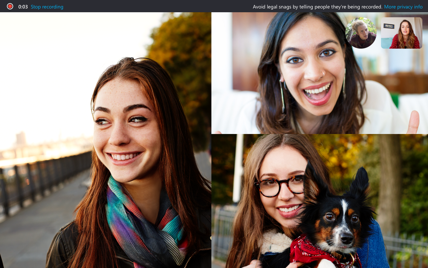 Skype Preview version 8.43.76.38 Introduces Screen Sharing on Mobile Introducing-Skype-call-recording-3.png