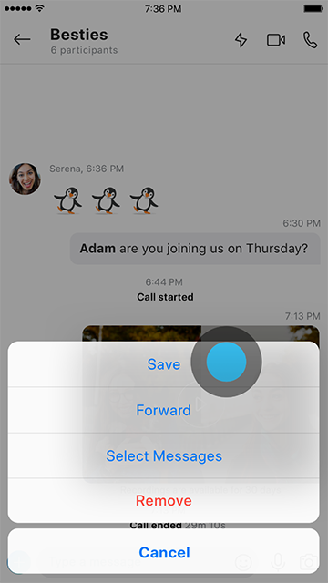 Skype Preview version 8.43.76.38 Introduces Screen Sharing on Mobile Introducing-Skype-call-recording-6b.png