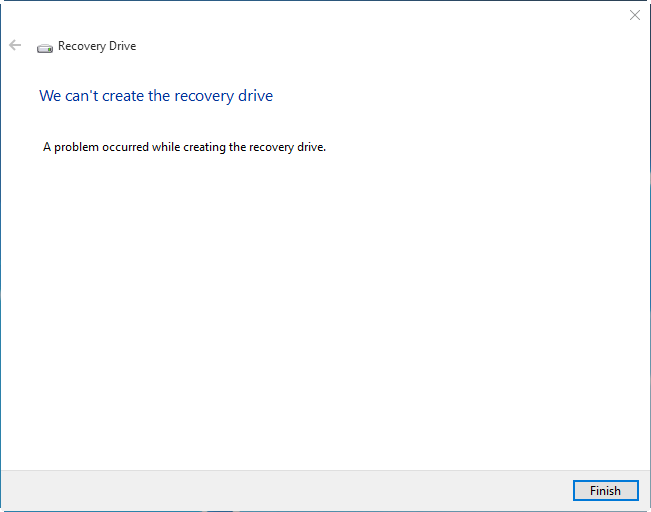 Side-by-Side error, and unable to create recovery drive IreEz.png