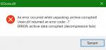 Fix ISDone.dll error, Unarc.dll returned error code message on Windows 10 isdone-unarc-dll-150x71.png