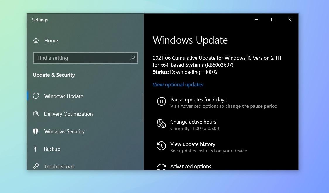 Windows 10 June 2021 updates: What's new and improved June-2021-Windows-Update.jpg