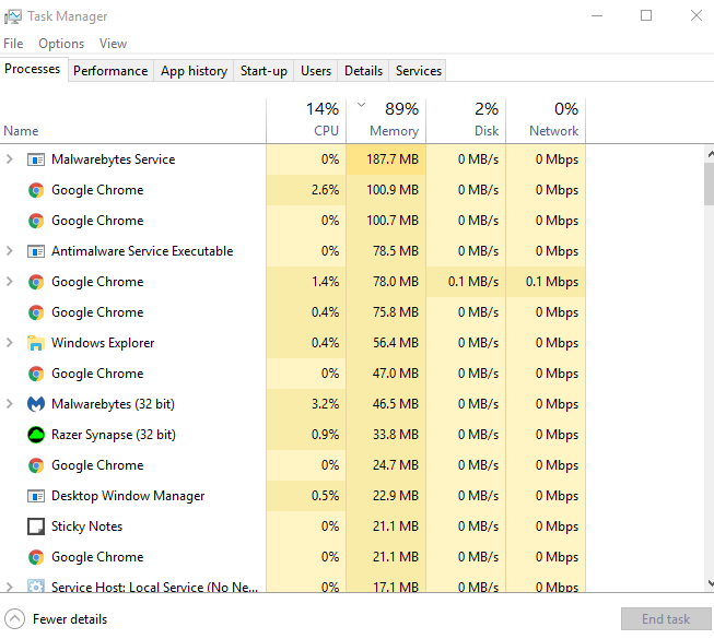 90% MEMORY usage without any heavy work JXzO3.png